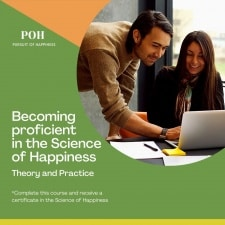 course on becoming proficient ini the science of happiness
