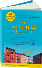 Book on the Happiness project