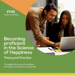 becoming proficient ini the science of happiness