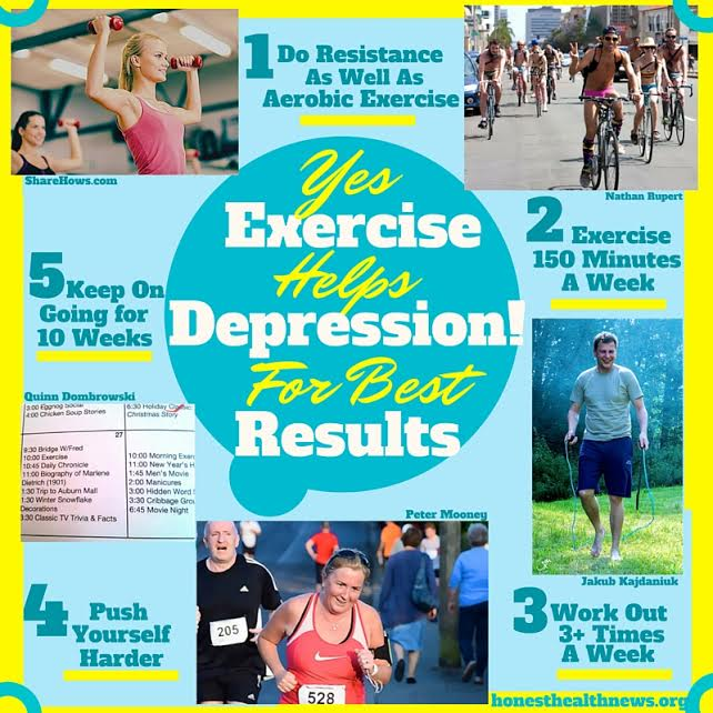 essays on depression and exercise