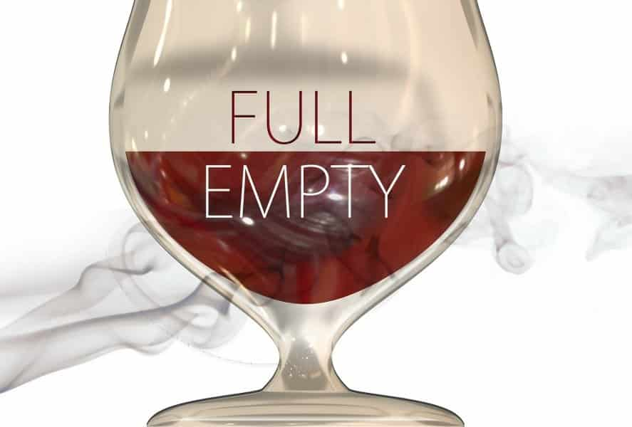 glass half empty or full?