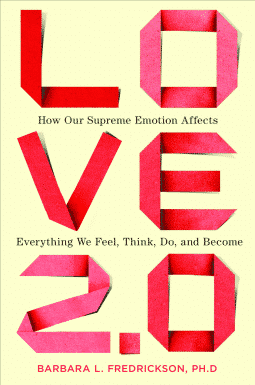 The cover of Barbara Fredrickson's book, Love 2.0